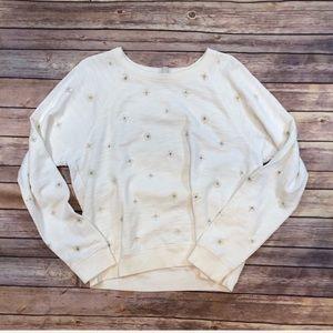 J. Crew jeweled sweatshirt